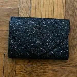 Glitter card wallet